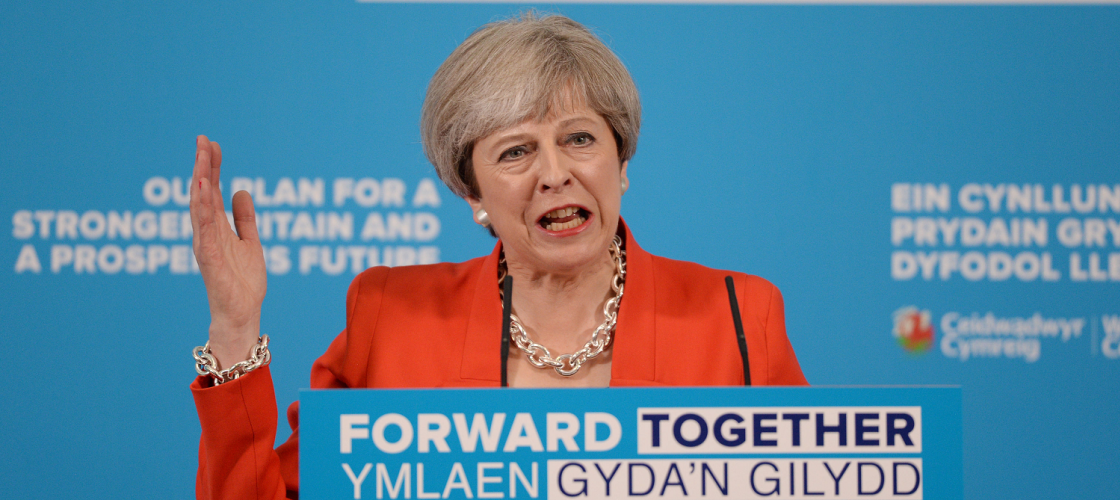 Theresa May launches the Welsh Conservative manifesto