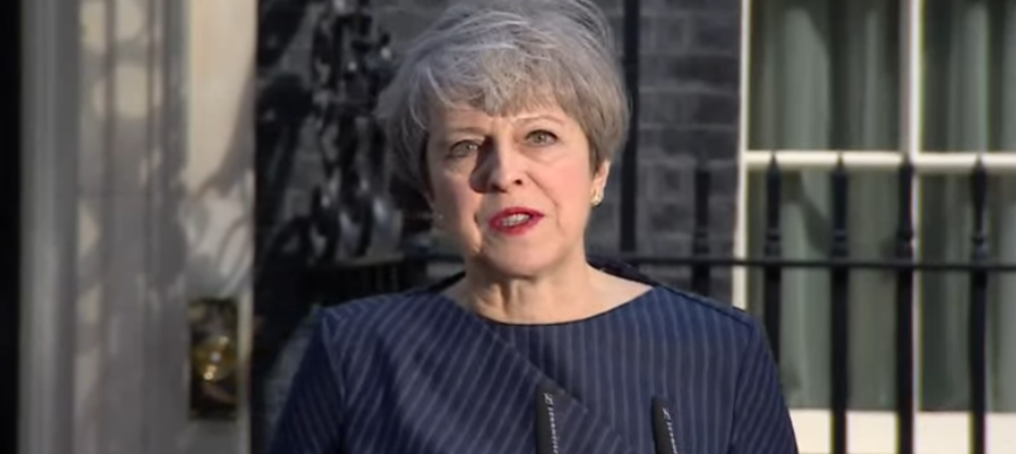 Theresa May announces an early general election