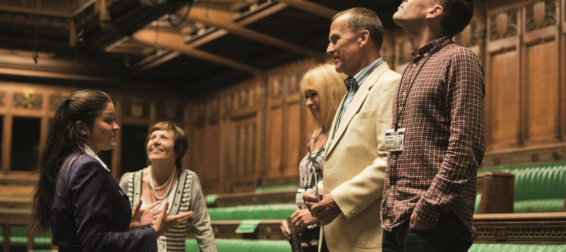 The opportunity to join Parliament as a guide will open in April