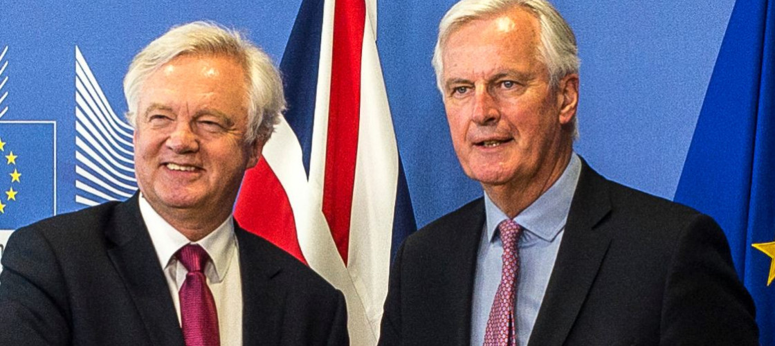 David Davis and Michel Barnier kick off Brexit talks