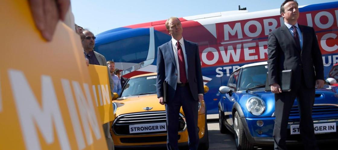 Tim Farron and David Cameron