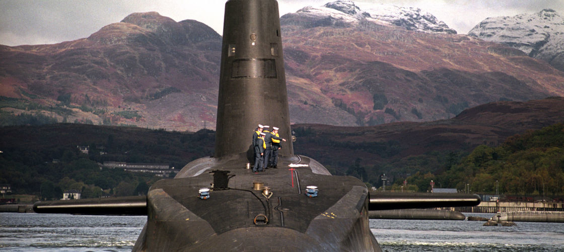 Trident nuclear weapons system