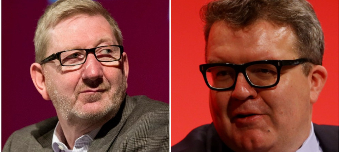 Len McCluskey and Tom Watson