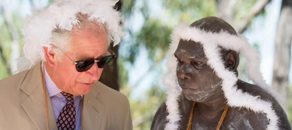 Prince Charles in Australia