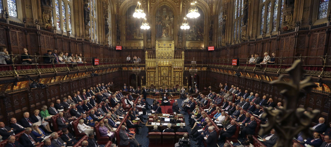 A government source suggested the Lords could be under threat