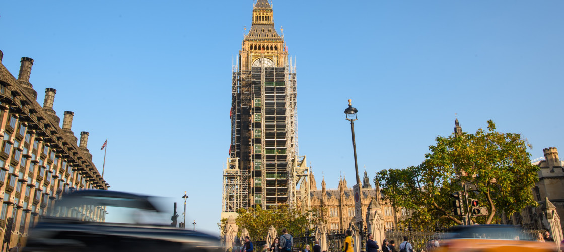 MPs in February voted to leave the Palace of Westminster while a proposed refurbishment of parliament takes places