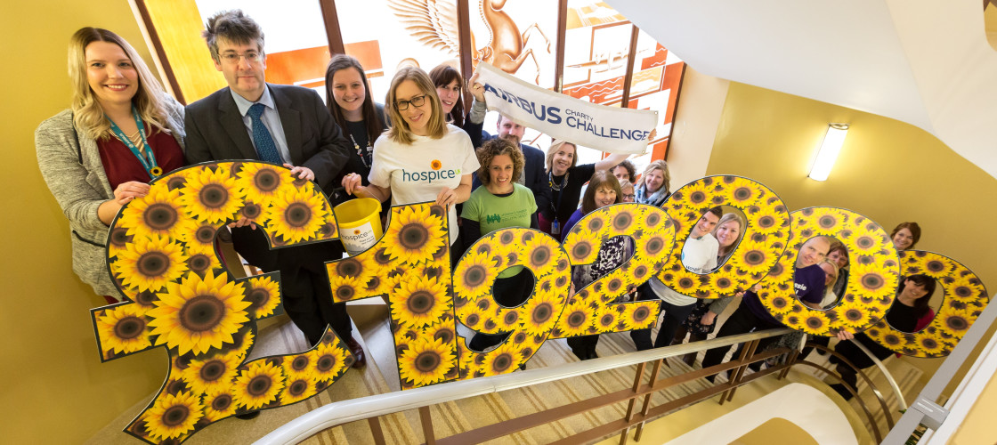 Airbus and Hospice UK Partnership Blossoms