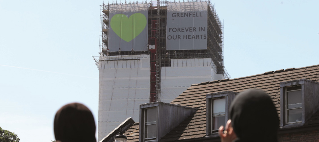 The Grenfell fire tragedy took place on 14 June 2017