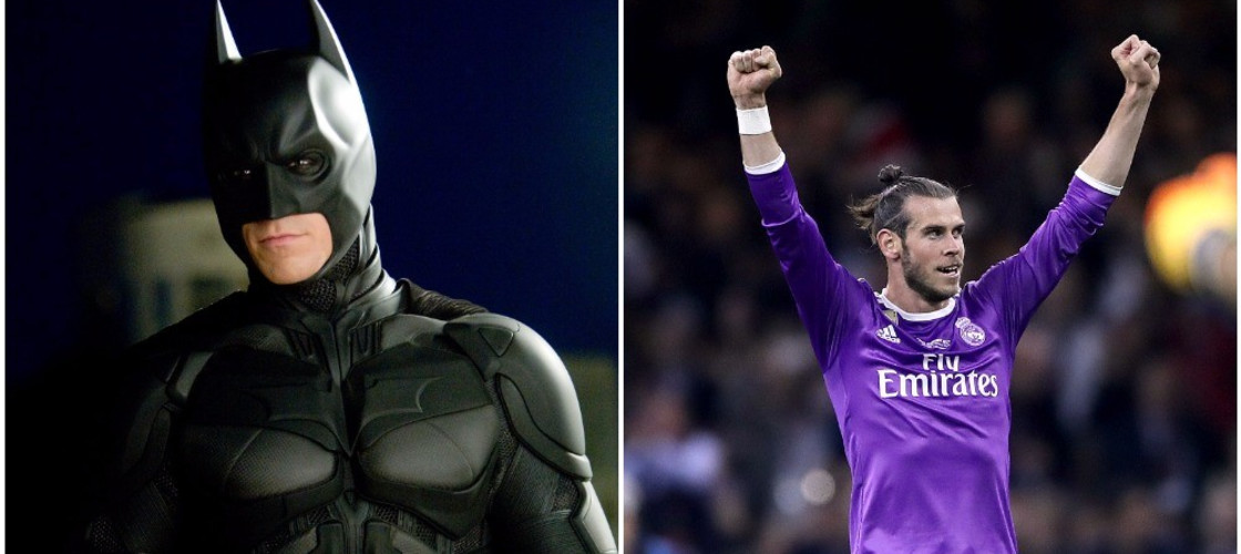 Batman and Gareth Bale