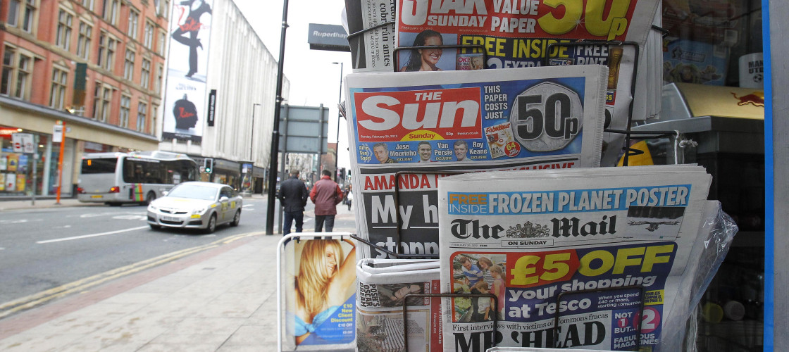 Newspapers are awaiting the decision on a new regulator