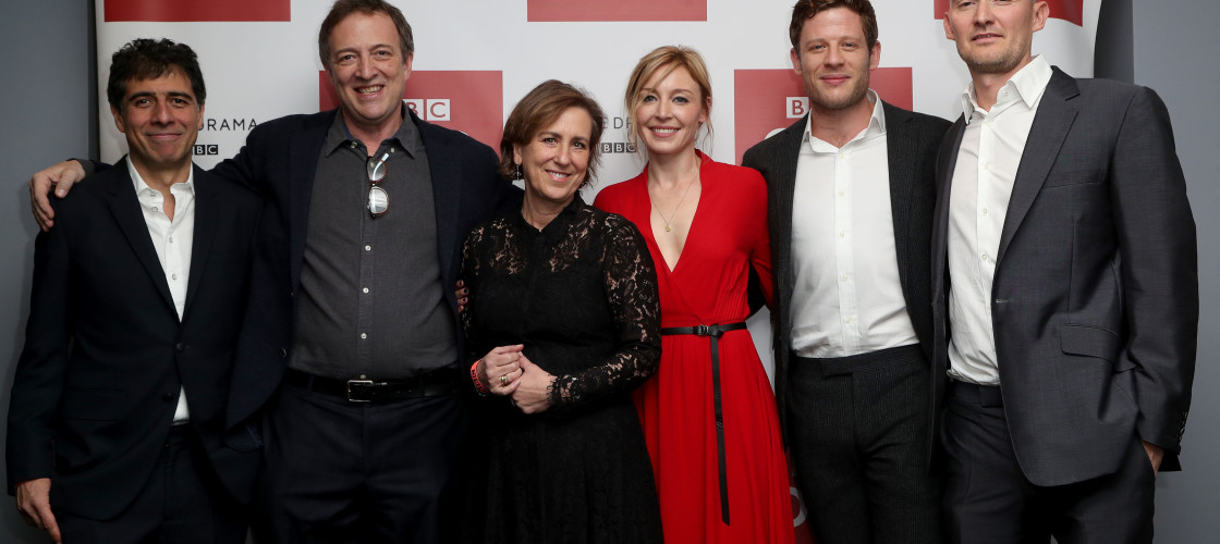 The cast of McMafia