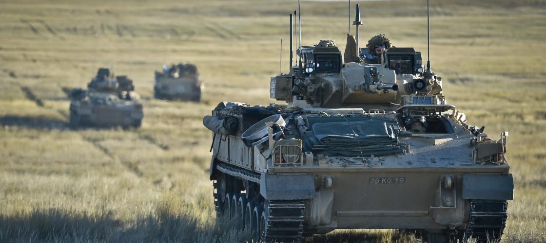 British army tanks