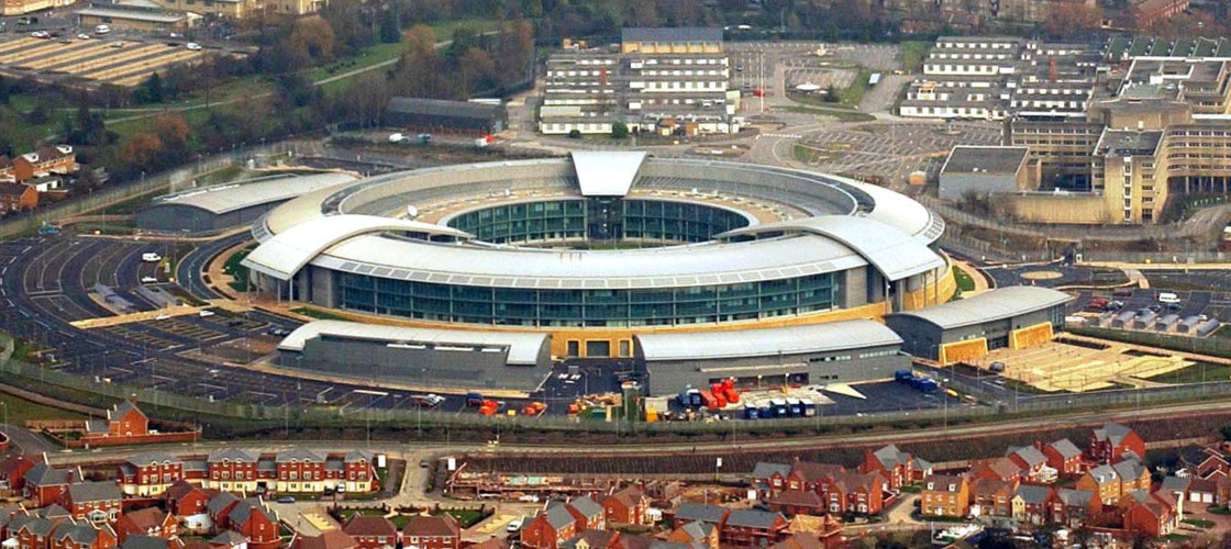 GCHQ in Cheltenham is at the heart of the UK's intelligence infrastructure