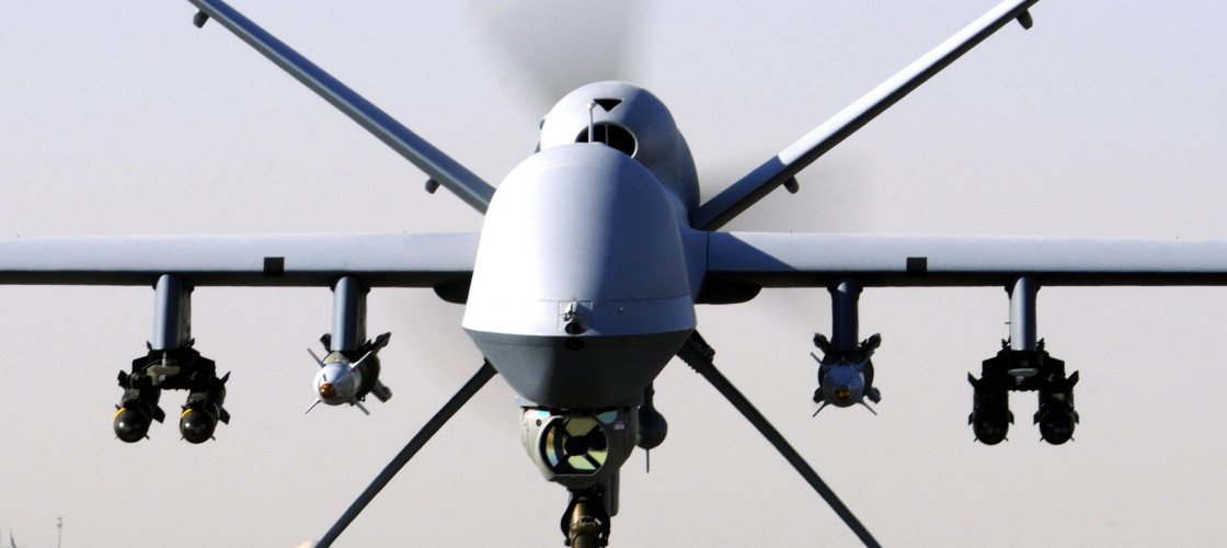 Image of a Reaper drone