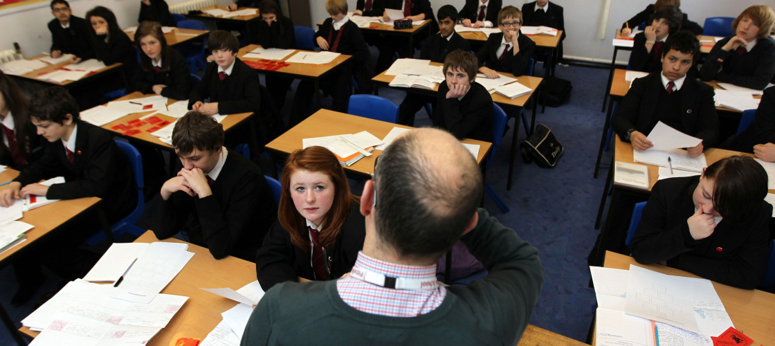 Teachers appear to be overwhelmingly against allowing new grammar schools