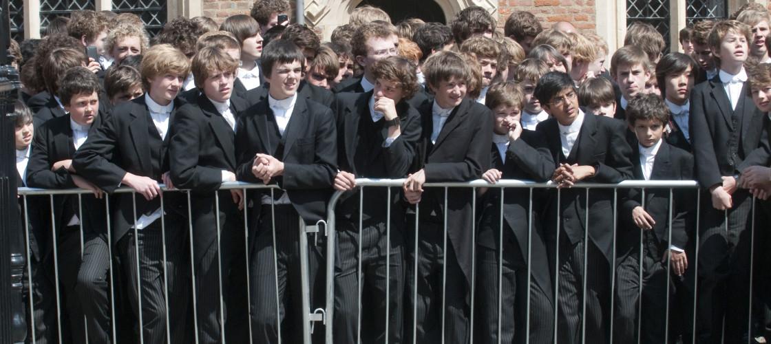 Eton boys