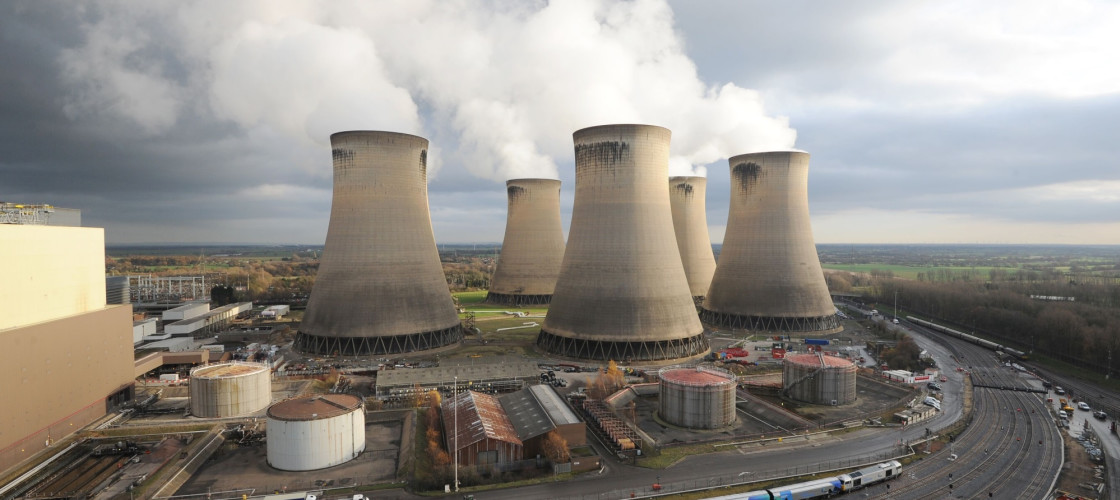 Power station, UK