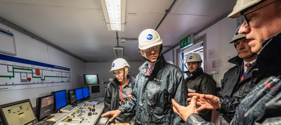 Greg Clark visits Sellafield