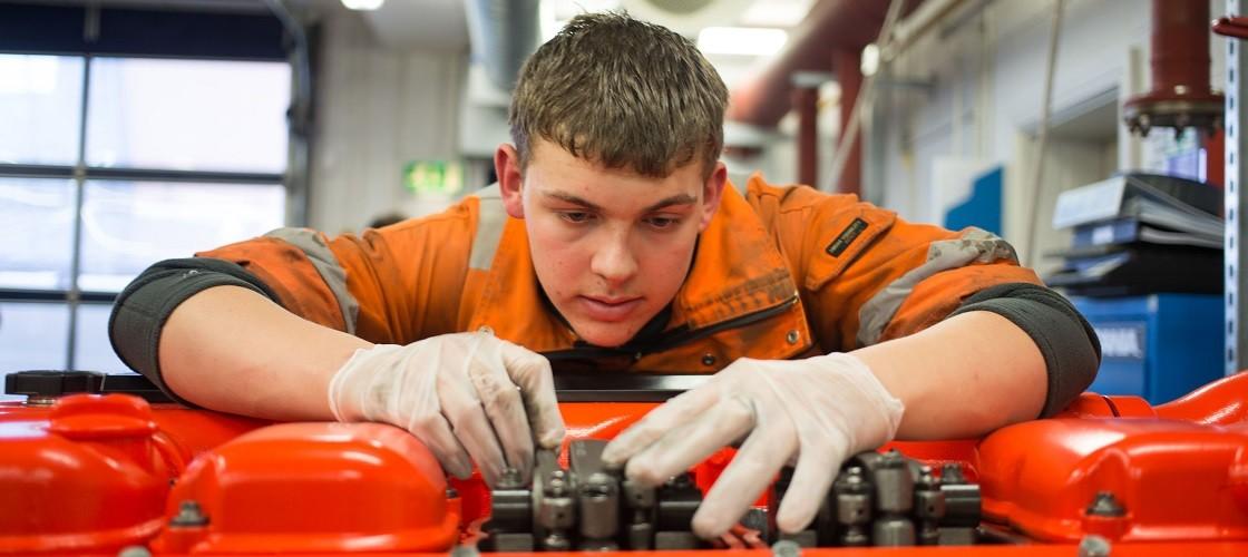 RNLI apprenticeship programme