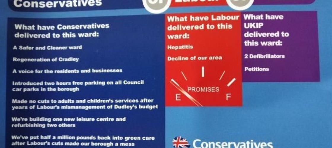 Conservative leaflet
