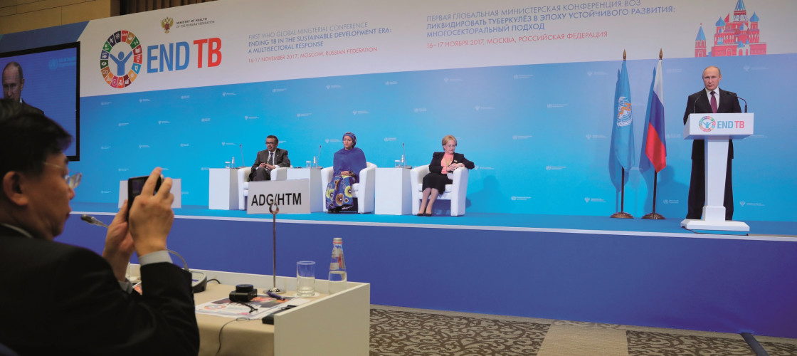 End TB Summit in Moscow