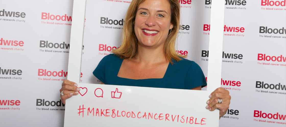 Gemma Peters, CEO Bloodwise