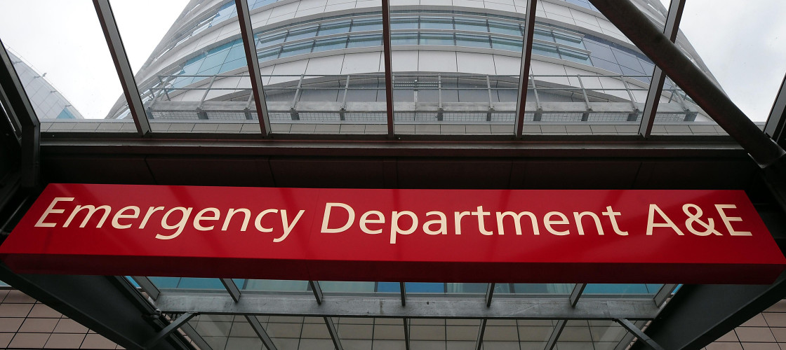 Image of an A&E department
