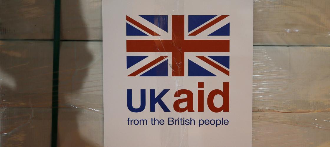 UK Aid Crates