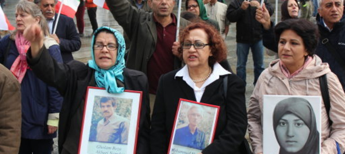 Protest against executions in Iran
