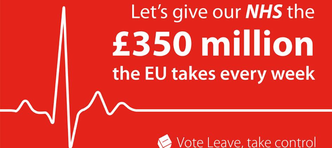 Vote Leave £350m claim 'potentially misleading', says watchdog