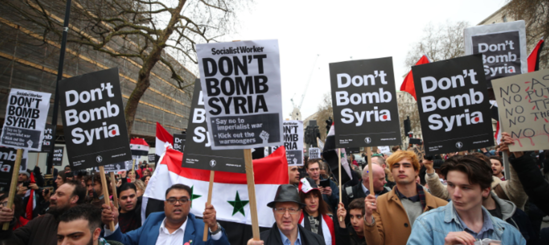 Syria demonstration