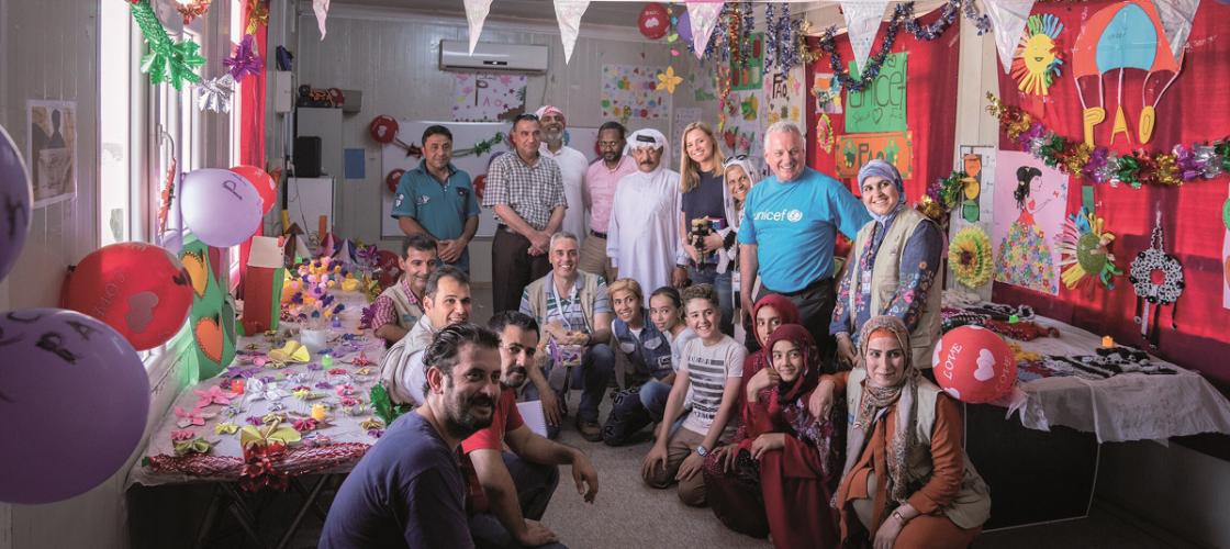 Arts & crafts group, Children's Centre, IDP Camp, Erbil
