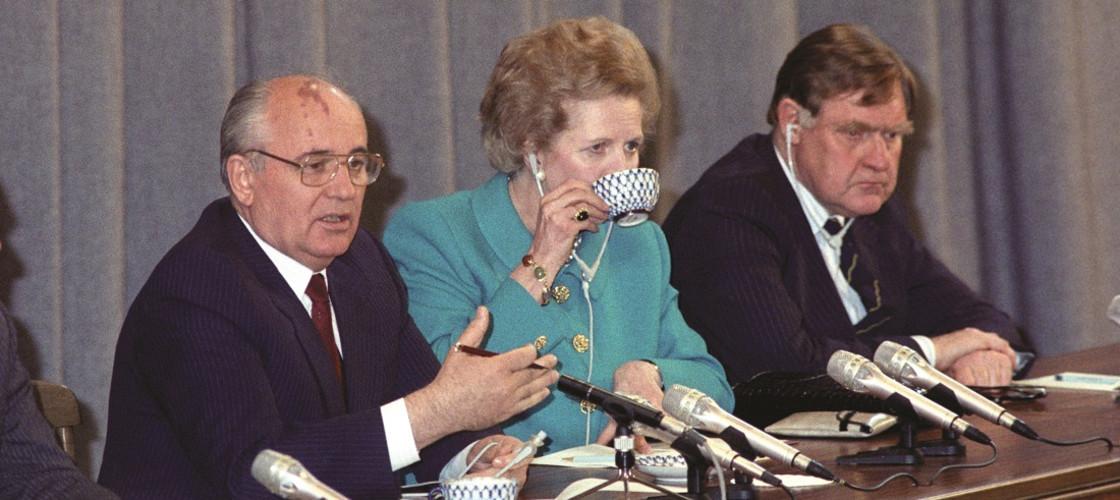 Gorbachev, Thatcher and Ingham