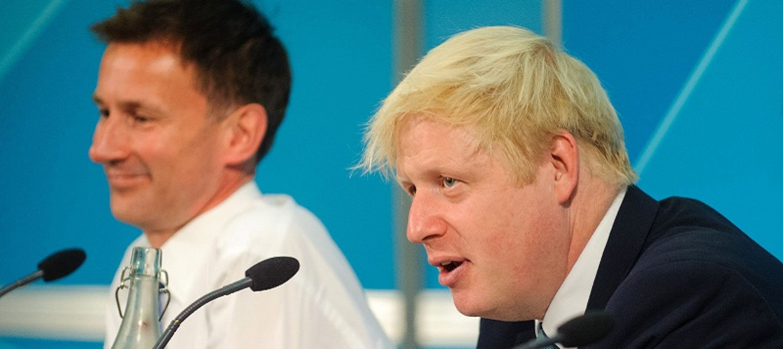 Jeremy Hunt and Boris Johnson are competing to be the next UK Prime Minister