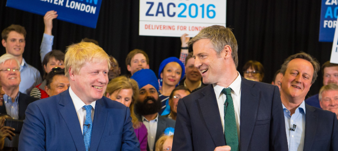 Boris Johnson and Zac Goldsmith