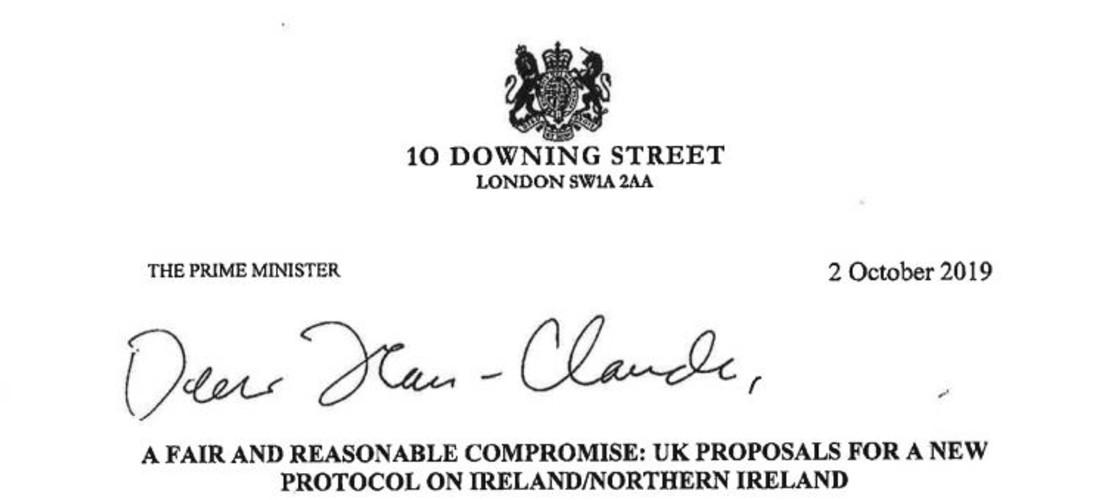 Boris Johnson Jean-Claude Juncker letter