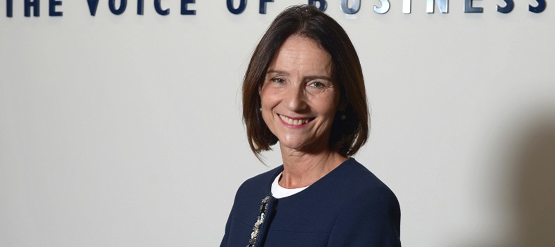 Carolyn Fairbairn is the director general of the CBI