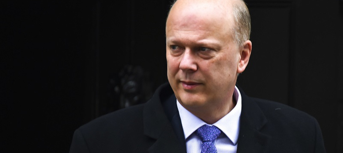 Chris Grayling is the Secretary of State for Transport