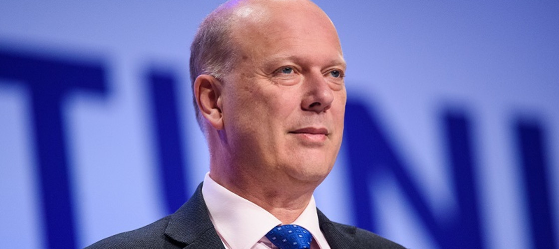 Chris Grayling is Secretary of State for Transport