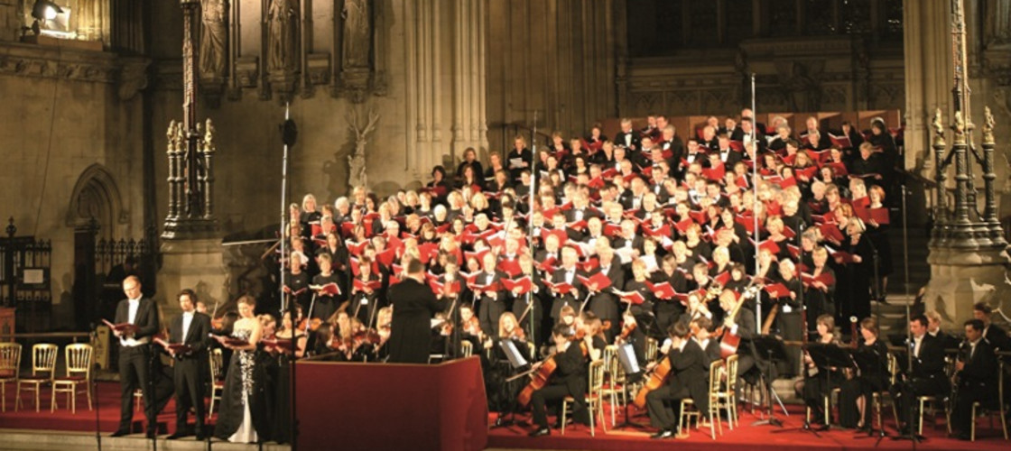 The two choirs first sang together in 2014