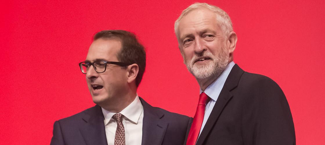 Owen Smith and Jeremy Corbyn