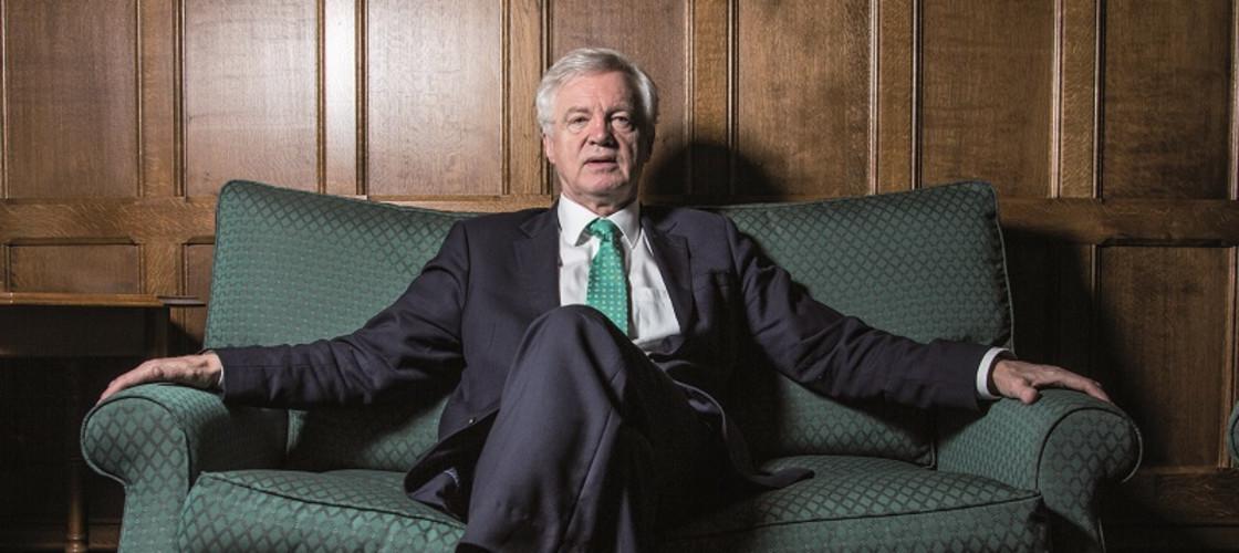 David Davis resigned as Brexit Secretary in July