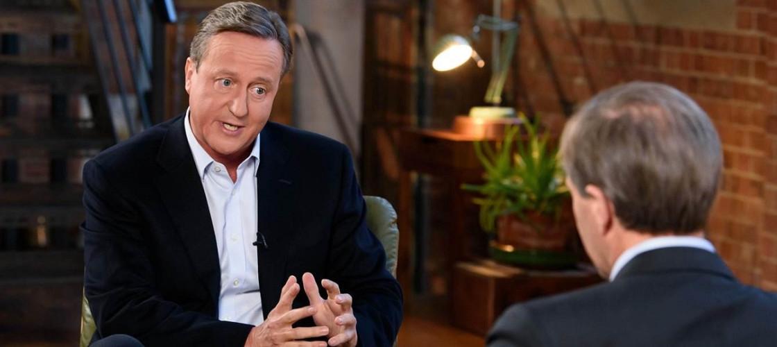 David Cameron ITV