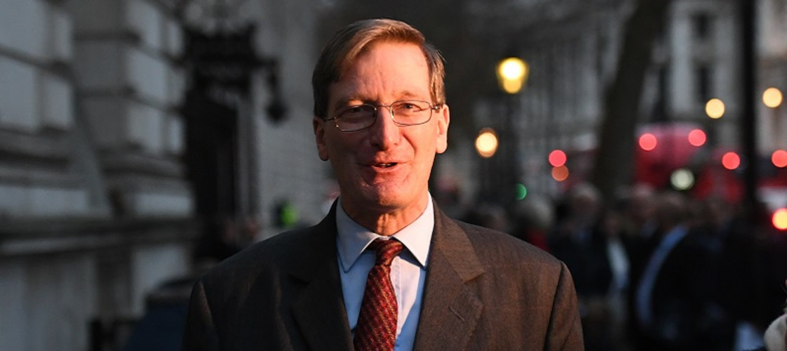 Former attorney general Dominic Grieve in Whitehall