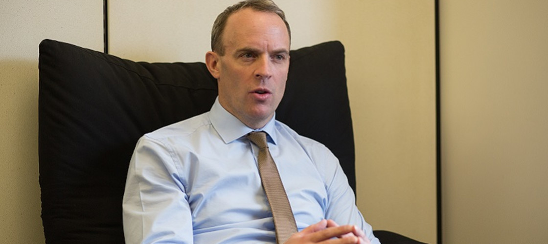 Dominic Raab resigned as Brexit Secretary in November 2018