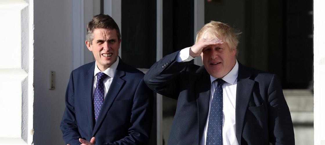 Gavin Williamson and Boris Johnson