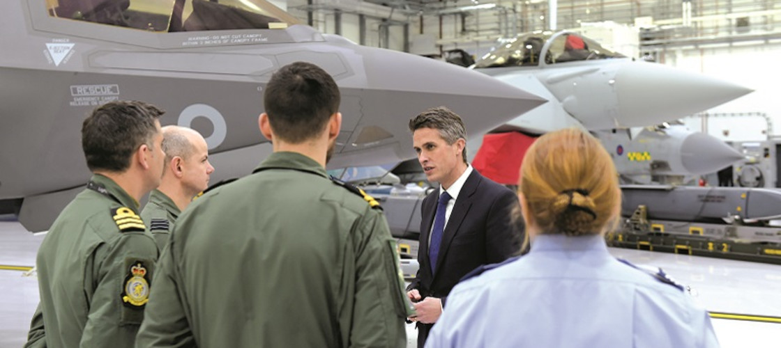 Since security and prosperity go hand in hand, we're ensuring our Defence industry can grasp the benefits of the post-Brexit world, writes Gavin Williamson