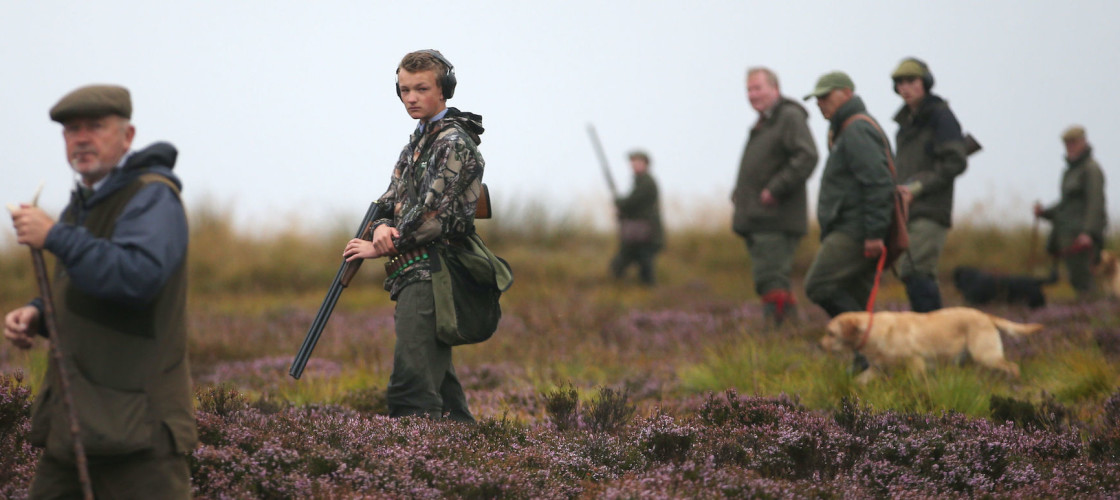 Grouse shooters