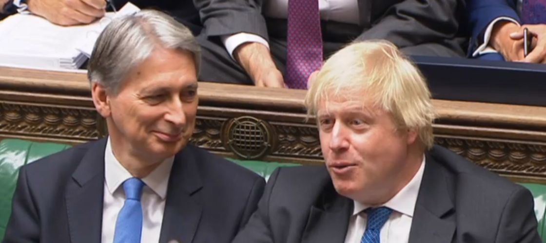 Boris Johnson and Philip Hammond