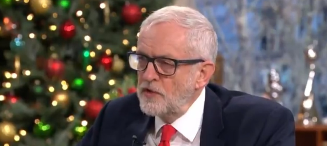 Jeremy Corbyn appeared on ITV's This Morning